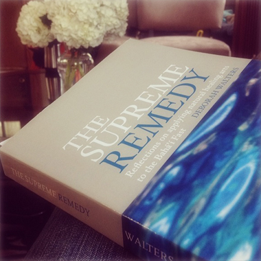The Supreme Remedy by Deborah Walters